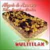 Alegría de Amaranto Tabique Especial Chocolate  Peso 160 gr. Largo 15 cm, Ancho 7.5 cm, Alto 3.5 cm. Ingredientes: Amaranto, Miel,