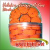 Vitrolero Veladora Mediana 40 pz.  Peso 1,200 gr.  Ingredientes: Coco, Azúcar, Glucosa, Vainilla y Colorante Artificial.