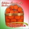 Vitrolero Veladora Mini 52 pz.  Peso 1,200 gr.  Ingredientes: Coco, Azúcar, Glucosa, Vainilla y Colorante Artificial.